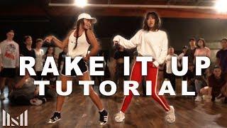 """RAKE IT UP"" - Yo Gotti ft Nicki Minaj Dance TUTORIAL | @MattSteffanina Choreography"