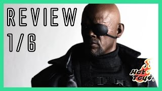 Hot Toys Nick Fury - Winter Soldier - MMS315 video review & comparison 1/6
