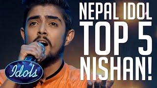 Nepal Idol   Nishan Bhattarai Overall Performance - Part 1