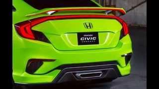 2016 Honda Civic Concept Photo Gallery 2015 New York Auto Show