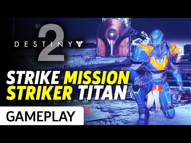 Full Inverted Spire Strike From Destiny 2 Gameplay
