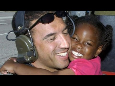 Hurricane Katrina Airman's Search for Girl He Rescued Goes Viral