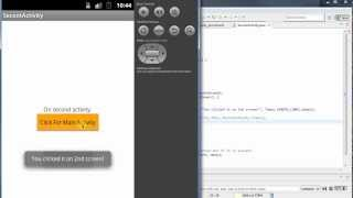 Switching Activities: Android Programming