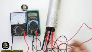 ولتاژ باقی مانده در خازن