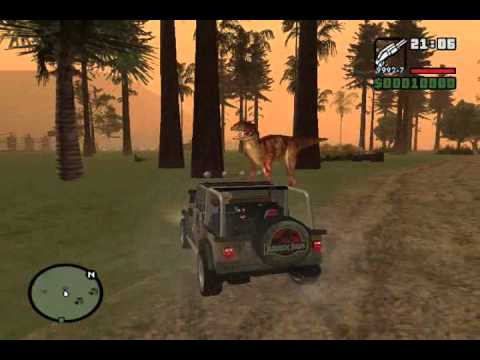 Jurassic Park GTA San Andreas Mod