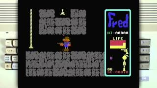 Fred on the Commodore 64