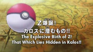 Pokemon XY&Z Episode 1 English Subbed