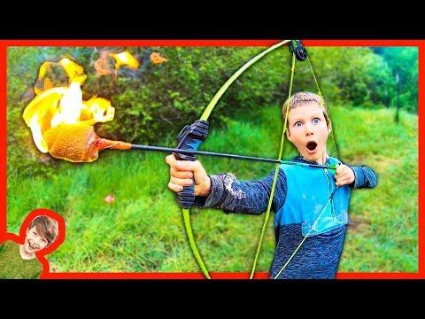 Axel Shoots A FLAMING ARROW