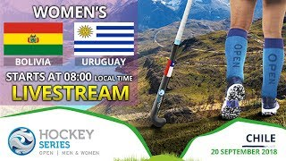 Bolivia v Uruguay | 2018 Women's Hockey Series Open | FULL MATCH LIVESTREAM