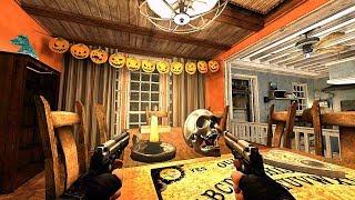 CS Source - Zombie Escape Mod - ze_halloween_house_b4s