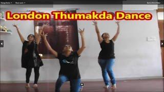 Dance on London Thumakda queen movie  song