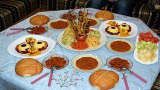 مائدة غداء صيفية بأفكار رائعة وسريعة التحضير رخيصة وغير مكلفة