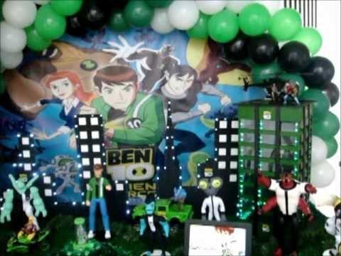 Ben10 Mesa Decoração Infantil Festas Tema Arte e Magia