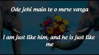 Heer  Lyrics & English Translation   Jab Tak Hai Jaan  2012   YouTube