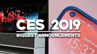 Biggest Announcements At CES 2019!