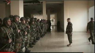نشرة السادسة صباحاً من الإخبارية السورية في دمشق 12/1/2017 رائف مرعي