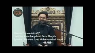 Namaz-e-maula Ali (as) - Maulana Muhammad Ali Naqvi