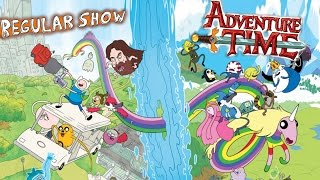 Upcoming Regular Show/Adventure Time CROSSOVER!