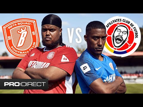 CHUNKZ & YUNG FILLY UNCUT BETA SQUAD FC VS AFILLYATES Pro Direct ClubHouse Challenge Cup