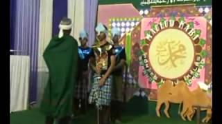 Drama Raja Abraha Peringatan Maulid Nabi di Nurul IKhlas Sidoarjo