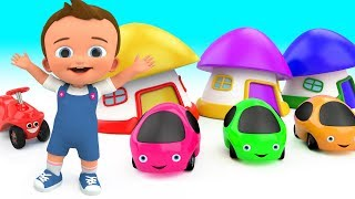 Learning Colors for Children with Cute Color Cars Toys - Fun Learning Educational Videos for Kids