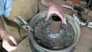 como hacer fragua casera parte 1 : )