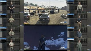 LSPDFR IS OUT! PREVIEW ( GTA 5 COP MODS/ LET'S BE COPS) THE WAIT IS OVER