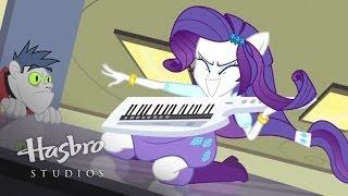 "MLP: Equestria Girls - Rainbow Rocks EXCLUSIVE Short - ""Player Piano"""