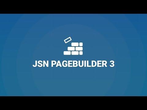 Jsn Pagebuilder 3 New Joomla Page Builder Extension By Joomlashine