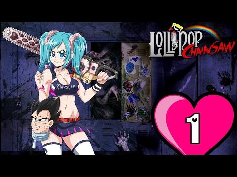 UNDEAD DOUCHEBAGS! - Bulma plays Lollipop Chainsaw: Part 1 🍭