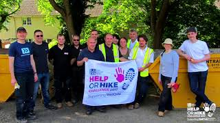 Lexia Charity Garden Renovation Project with WellChild - May 2017