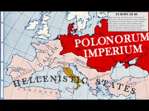86-9.a 4/5 Kroniki niemieckie,rzymskie i arabskie o Imperium Lechitów i antyczne nazwy Polaków.