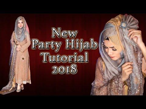 Xxx Mp4 New Party Hijab Tutorial 2018 Artikia 3gp Sex