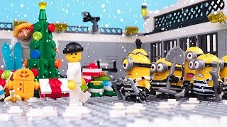 Minions in Prison • a Christmas Story • Despicable Me Stop Motion