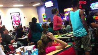 Kyle's Birthday Party At Chuck E Cheese