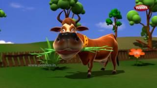 Bengali Animal Rhymes Top 10 Collection 1   বাংলা গান   Bengali Rhymes For Kids   3D Animal Songs