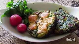Herb patties   Kuku Sabzi   کوکو سبزی