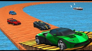 juego de carros de carreras stunt para niños ♥ juegos y videos de coches o autos para niños 2017 HD