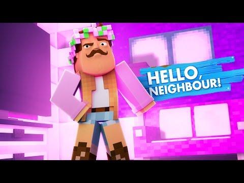 Minecraft LITTLE KELLY TURNS INTO HELLO NEIGHBOUR