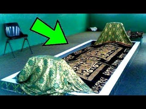 شاهد لاول مره مكان قبر سيدنا ادم وحواء وقصه حياتهم الحقيقه