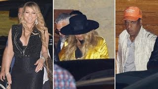 Mariah Carey Dining With Pregnant Beyonce And Jay Z?