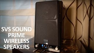 SVS Sound Prime Wireless Speakers and SoundBase Debut at CES 2018