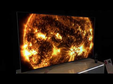 LG B7 OLED 4K TV mit Dolby Vision - Neuheit 2017 auf der LG Roadshow