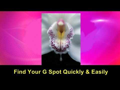 Find Your G Spot Quickly & Easily Video Tutorial