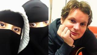 أمريكي طلب من سعودية تغني !