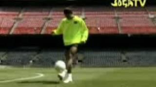 Ronaldiño y sus juegos/sogatv