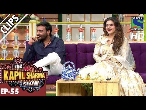 Kapil welcomes Ajay Devgan and Kajol to the show -The Kapil Sharma Show-Ep.55-29th Oct 2016