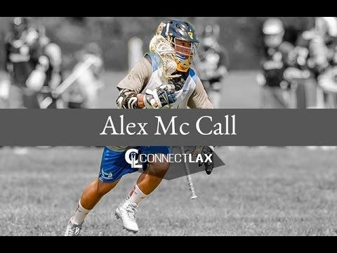 Alex Mc Call Lacrosse Highlights | CT 2018 | Att