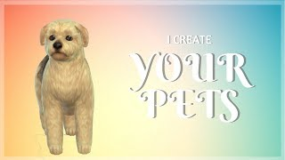 Trixie - I Create YOUR Pets | The Sims 4 CAP