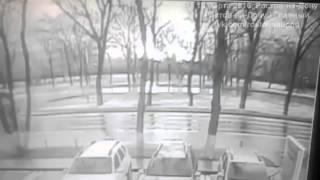 لحظة سقوط الطائرة في جنوب روسيا 19-03-2016